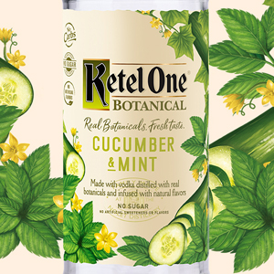 Ketel One Vodka Botanical - Cucumber Mint