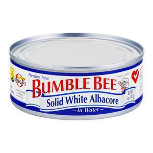Bumble Bee Tuna - Solid in Water