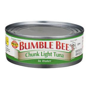 Bumble Bee Tuna - Chunk in Water
