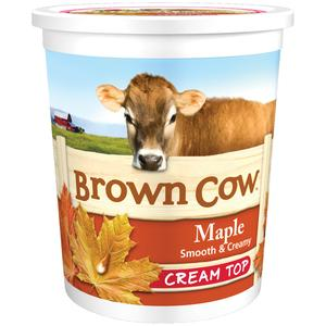 Brown Cow Maple Yogurt