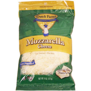 Dutch Farms Cheese - Shredded Mozzarella