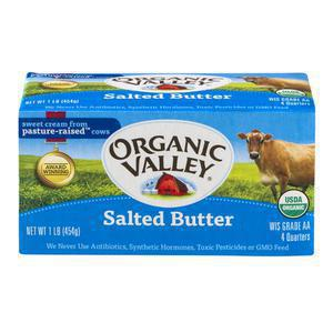 Organic Valley Butter - Salted