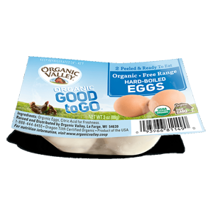 Organic Valley Hard Boiled Eggs