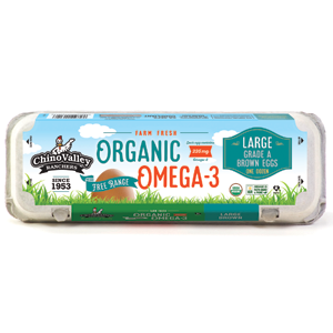 Chino Valley Large Eggs - Organic Omega-3
