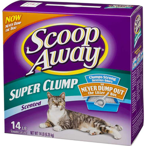 Scoop Away Super Clump Cat Litter