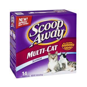 Scoop Away Multi Cat Litter