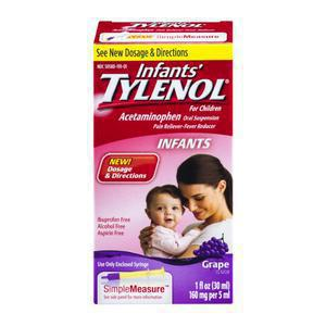 Tylenol Infants Grape Flavor