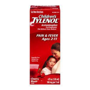 Tylenol Childrens Cherry Flavor
