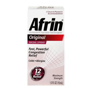 Afrin 12 Hour Nasal Spray