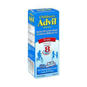 Children`s Liquid Advil - Blue Raspberry