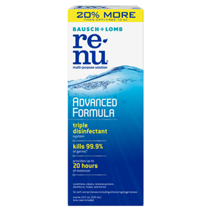 Renu Multi-Purpose Contact Lens Solution - Advanced