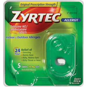 Zyrtec Allergy Relief