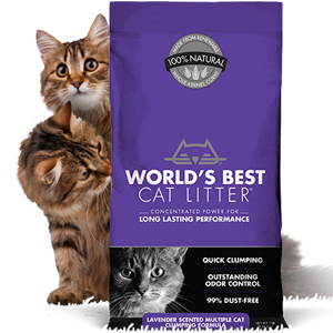 World's Best Cat Litter - Multi Cat Lavender