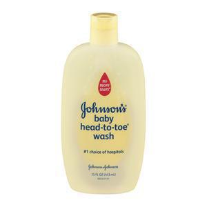 J&J Baby Wash - Head to Toe