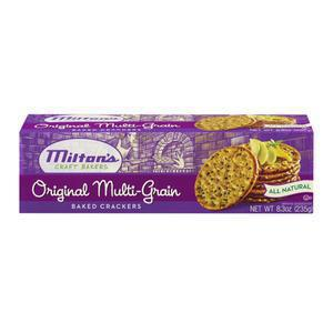Miltons Multi-Grain Round Crackers
