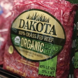 Dakota Ground Beef - Organic Grass-Fed 85/15%