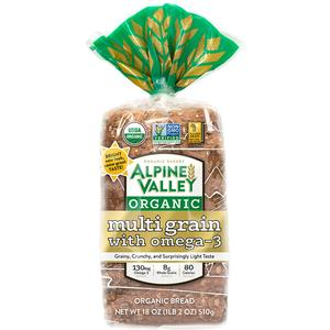 Alpine Valley Organic Bread - Multigrain Omega 3