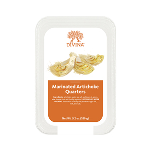 Divina Marinated Artichoke Quarters