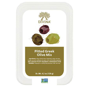 Divina Olives - Pitted Mixed Greek
