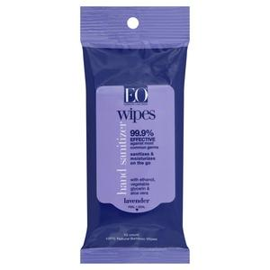 EO Essential Oils Hand Sanitizer Wipes - Lavender