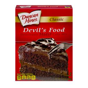 Duncan Hines Devil`s Food Cake Mix