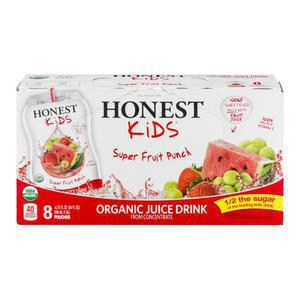 Honest Kids Drink Pouch - Superfruit Punch