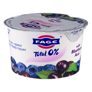 Fage Yogurt - Blueberry Acai 0%