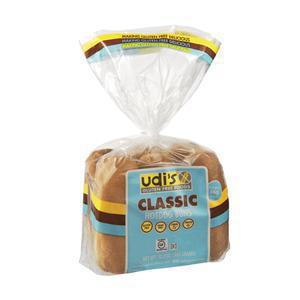 Udis Gluten Free Hot Dog Buns Frozen