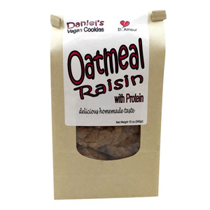 Daniels Vegan Cookies - Oatmeal Raisin