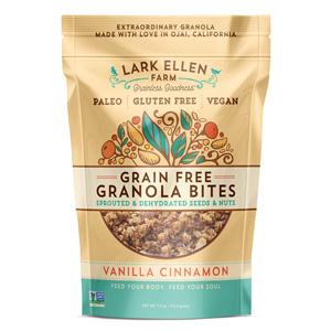 Lark Ellen Farm Vanilla Cinnamon Granola Bites
