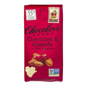 Chocolove Dark Cherry Almond Bar