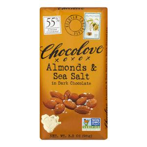Chocolove Dark Chocolate Almond Bar
