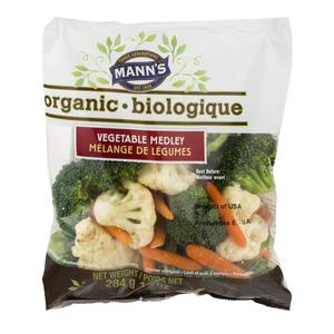 Manns Organic Vegetable Mix