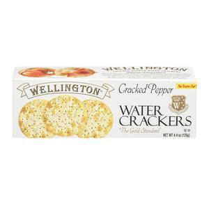 Wellington Water Crackers - Cracked Pepper