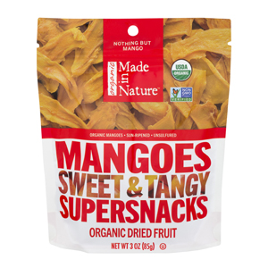 Made in Nature Dried Organic Mangoes