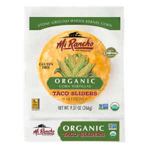 Mi Rancho Organic Corn Tortillas - Taco Sliders