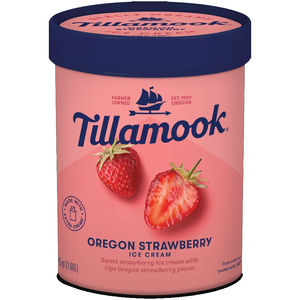 Tillamook Ice Cream - Oregon Strawberry