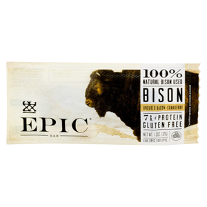 Epic Bar - Bison Bacon Cranberry