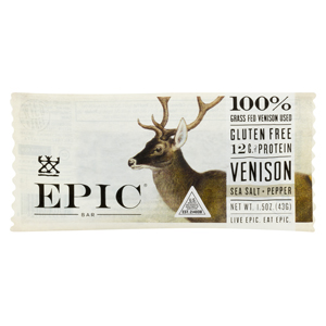 Epic Bar - Venison Sea Salt Pepper