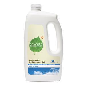 Seventh Generation Dishwasher Gel - Free & Clear
