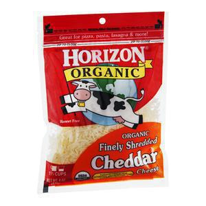 Horizon Cheese - Shredded Cheddar
