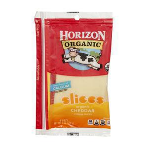 Horizon Cheese - Sliced Cheddar