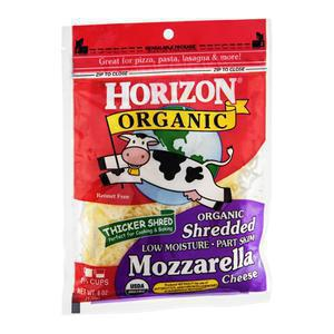 Horizon Cheese - Shredded Mozzarella