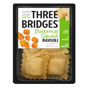 Three Bridges Ravioli - Butternut Squash