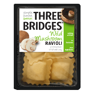 Three Bridges Ravioli - Wild Mushroom