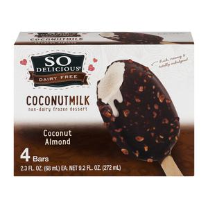 Sodelicious Mini Ice Cream Bars - Coconut Almond