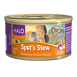 Halo Cat Food Canned - Spots Stew Chicken