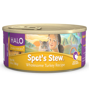 Halo Cat Food Canned - Spots Stew Turkey