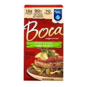 Boca Vegetarian Burger