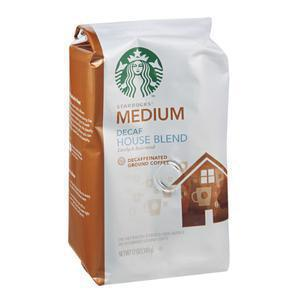 Starbucks Coffee Decaf House Blend